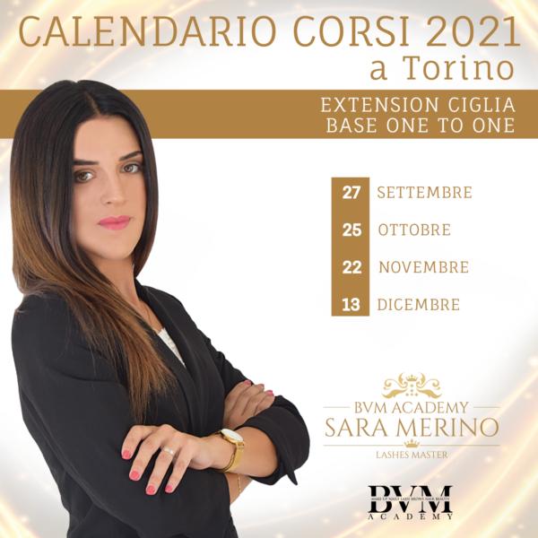 Calendario corsi Extension base TO
