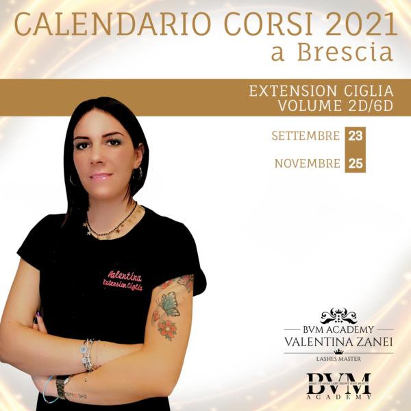 Calendario extension 2d/6d Brescia