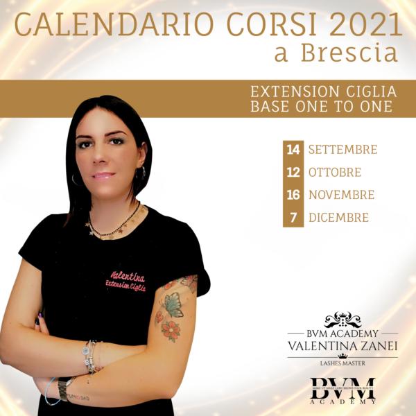 Calendario extension One To One Brescia